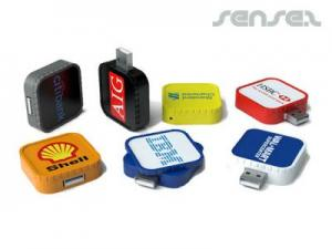 Square Twist USB Sticks (2GB)
