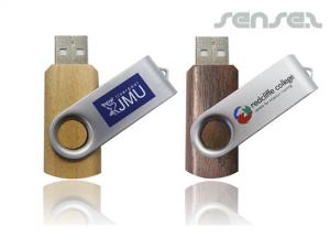 Wooden USB Flash Drives (2GB)