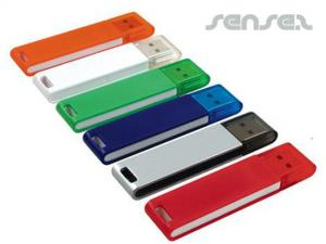 Colour USB Sticks Keyrings (1GB)