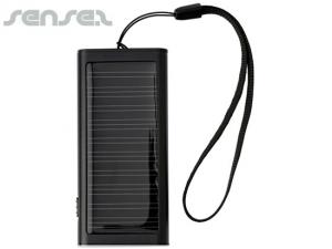 Slim Aluminium Solar Power Banks