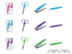 Nail Scissors, Clipper & Tweezer Kits