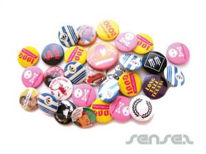 Cheap Tin Button Badges (32mm or 38mm)
