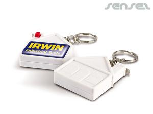 House Shaped Measuring Tape Keyrings