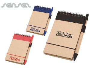 Notepads with Pen Sets (A6)