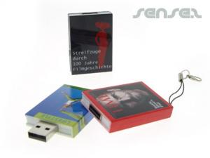 Book Shaped USB Sticks (1GB)