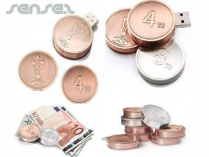 Coin USB Sticks (2GB)