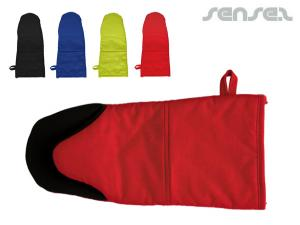Cotton/Neoprene Oven Mitts