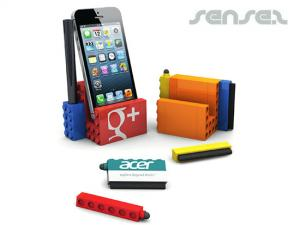 Building Block Phone And Pen Holder Sets