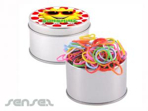 Looms Bands (Round Tin)