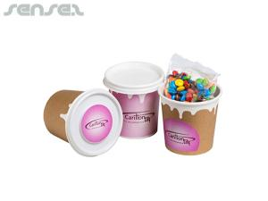 M&Ms in Coffee Cups