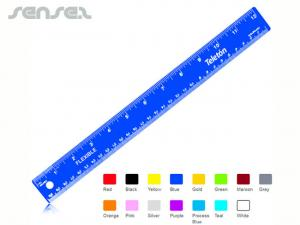 Coloured Steel Rulers (30cm)
