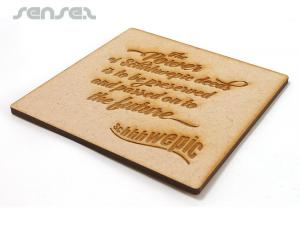 Wooden ECO Coasters